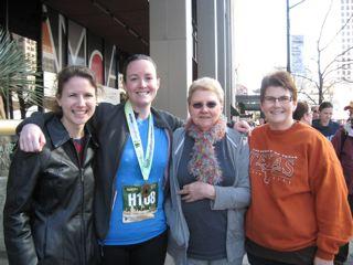 From Left: Katie, me, Aunt Marsha, Mom